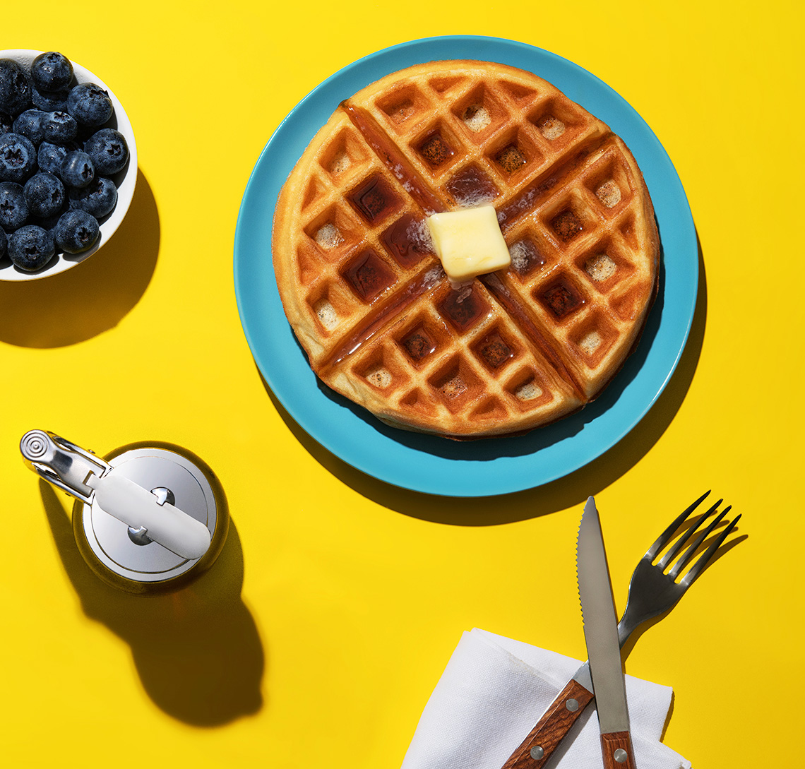 New-York-food-photographer-Belgium-waffle-Breakafst